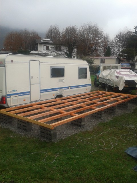 Casette e strutture in legno per campeggi