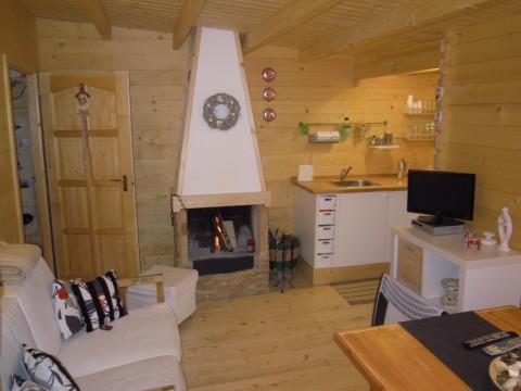 Bungalow in legno per campeggi - spessore parete 40mm