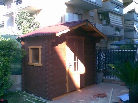 Casetta in legno 2x3 mt.