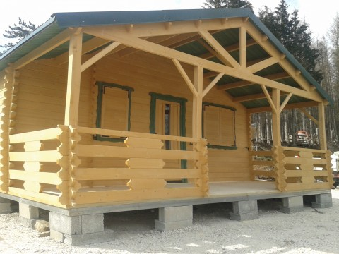 Casetta in legno 6x8 mt.