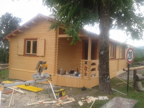 Casetta in legno 6x10 mt.