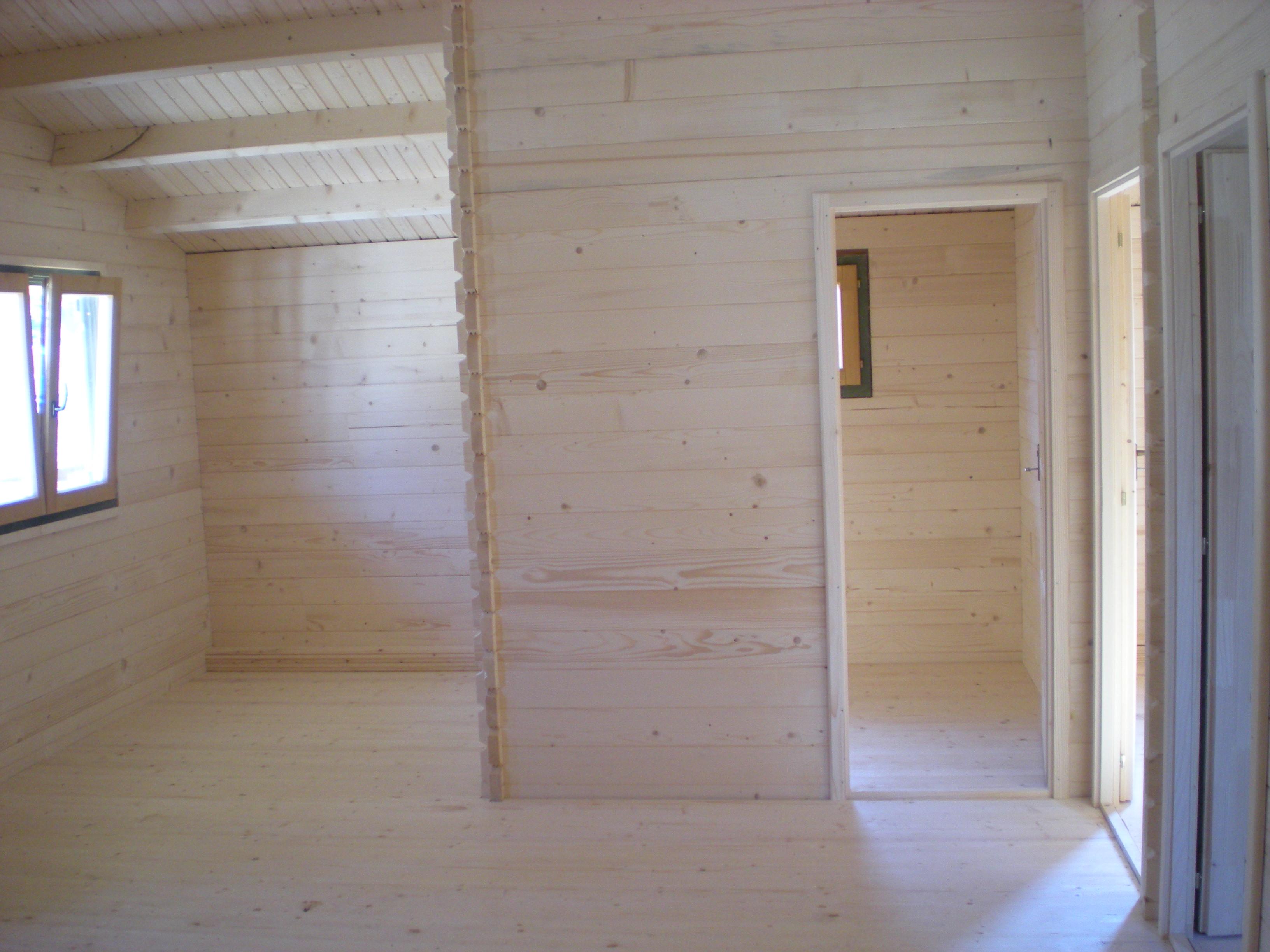Divisori In Legno Interni casette in legno di abete 7x9 mt. - case in legno – casette