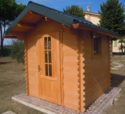 Casetta di legno 2x2 mt.