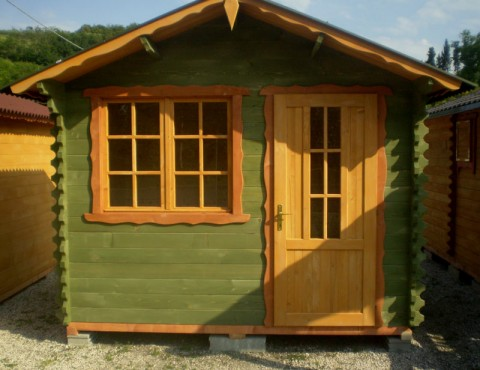 Casetta di legno 2x3 mt.