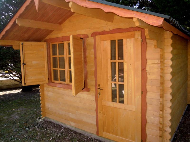 Casette in legno di abete 3x3 mt case in legno for Casette prefabbricate in legno