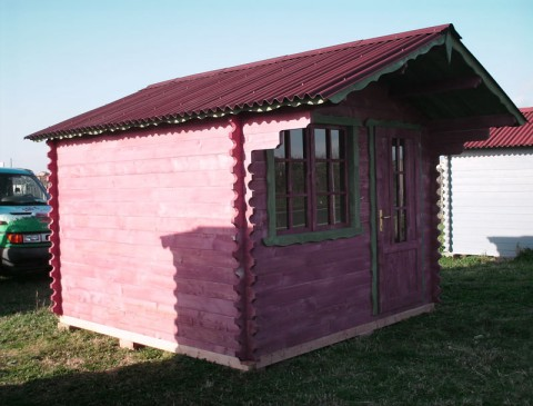 Casa in legno di abete 3x3 mt.