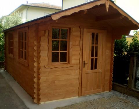 Casa in legno di abete 3x5 mt.