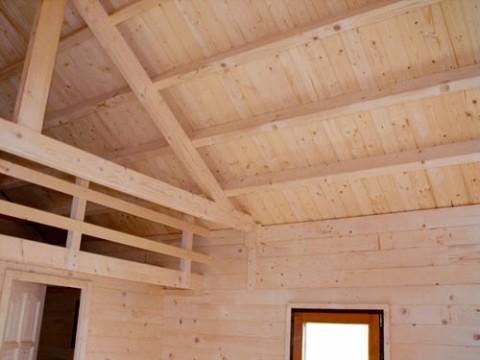 Casa in legno di abete 5x9 mt.