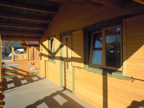 Casa in legno di abete 6x8 mt.