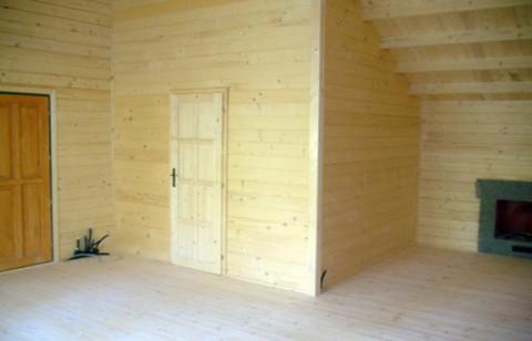 Casa in legno di abete 8x15 mt.